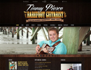 Timmy Pierce Website