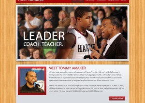 tommy-amaker-website